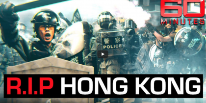 60 Minutes: RIP Hong Kong